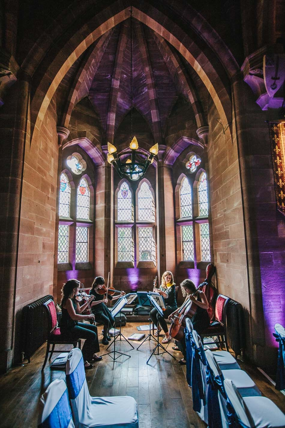 Peckforton castle wedding 181