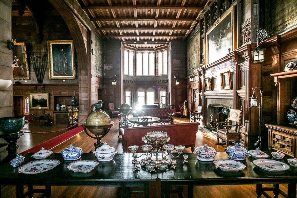 Bamburgh castle interior 6
