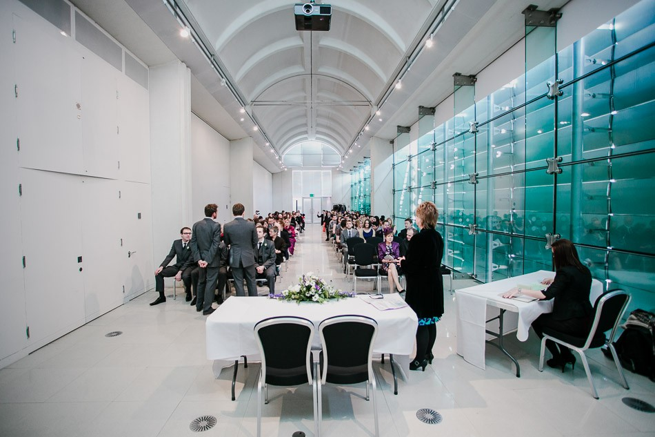 Millennium gallery wedding 187