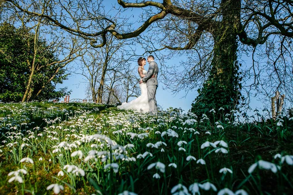 Hodsock priory winter wedding 401