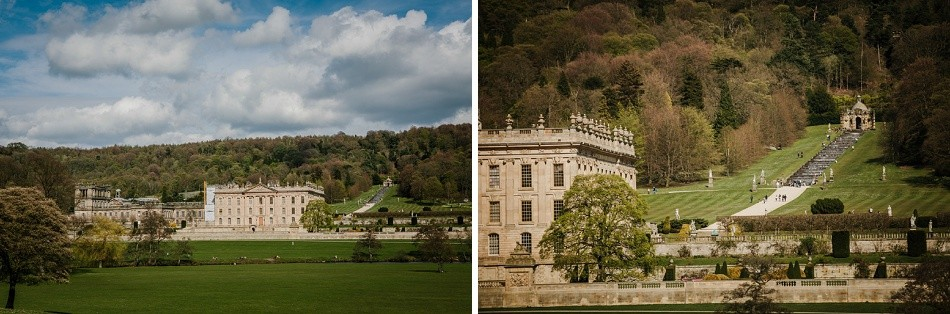 Chatsworth house wedding derbyshire 383