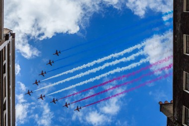 Red arrows london