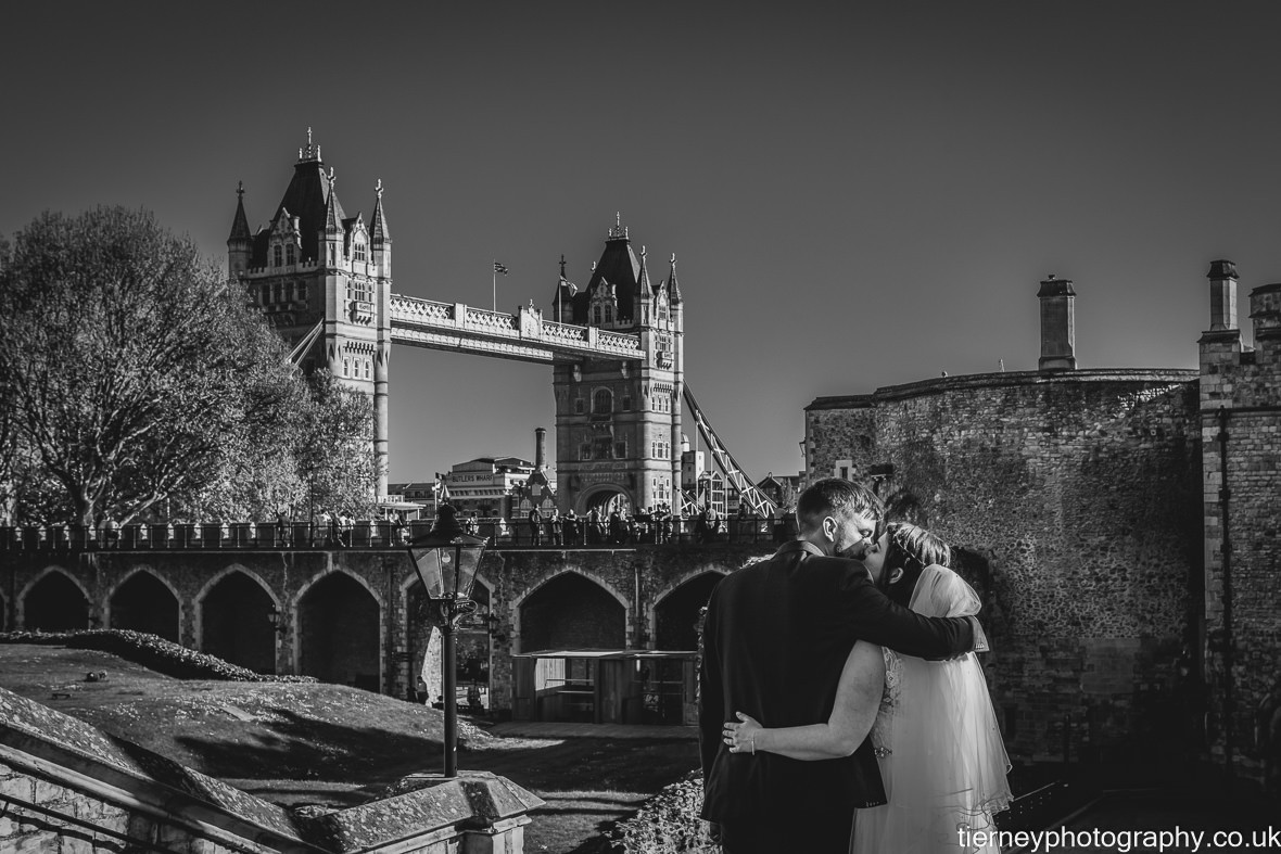 Tower of london wedding photographer