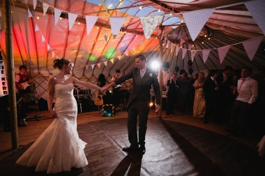 Yorkshire yurt wedding 192