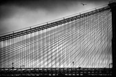 New york prints brooklyn bridge abstract 1