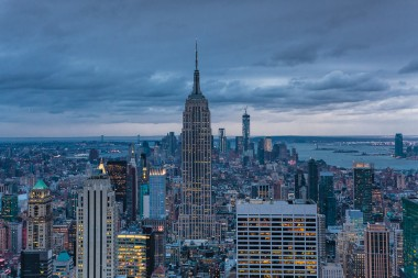 New york prints empire state duilding 2