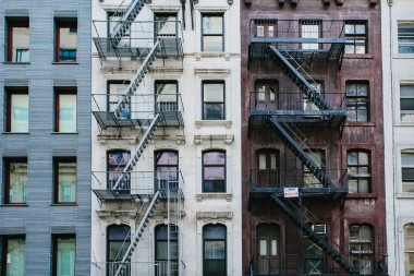New york prints fire escapes
