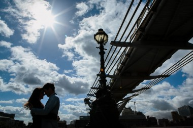 Millennium Bridge London (Mark Tierney, Yorkshire Wedding Photographer)