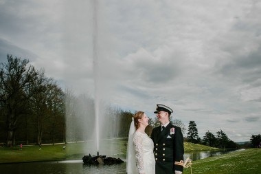 Chatsworth house wedding derbyshire 426