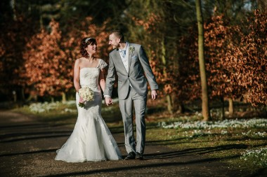Hodsock priory winter wedding 433-2