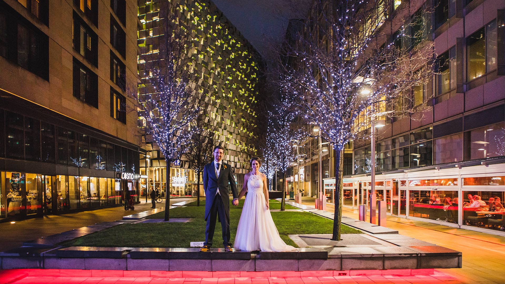 Sheffield Peace Gardens Wedding