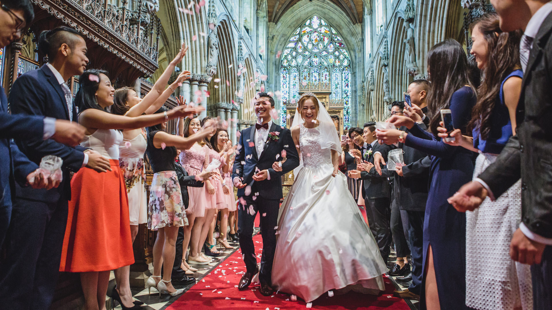 Wedding photographer based in Yorkshire, Tierney Photography.