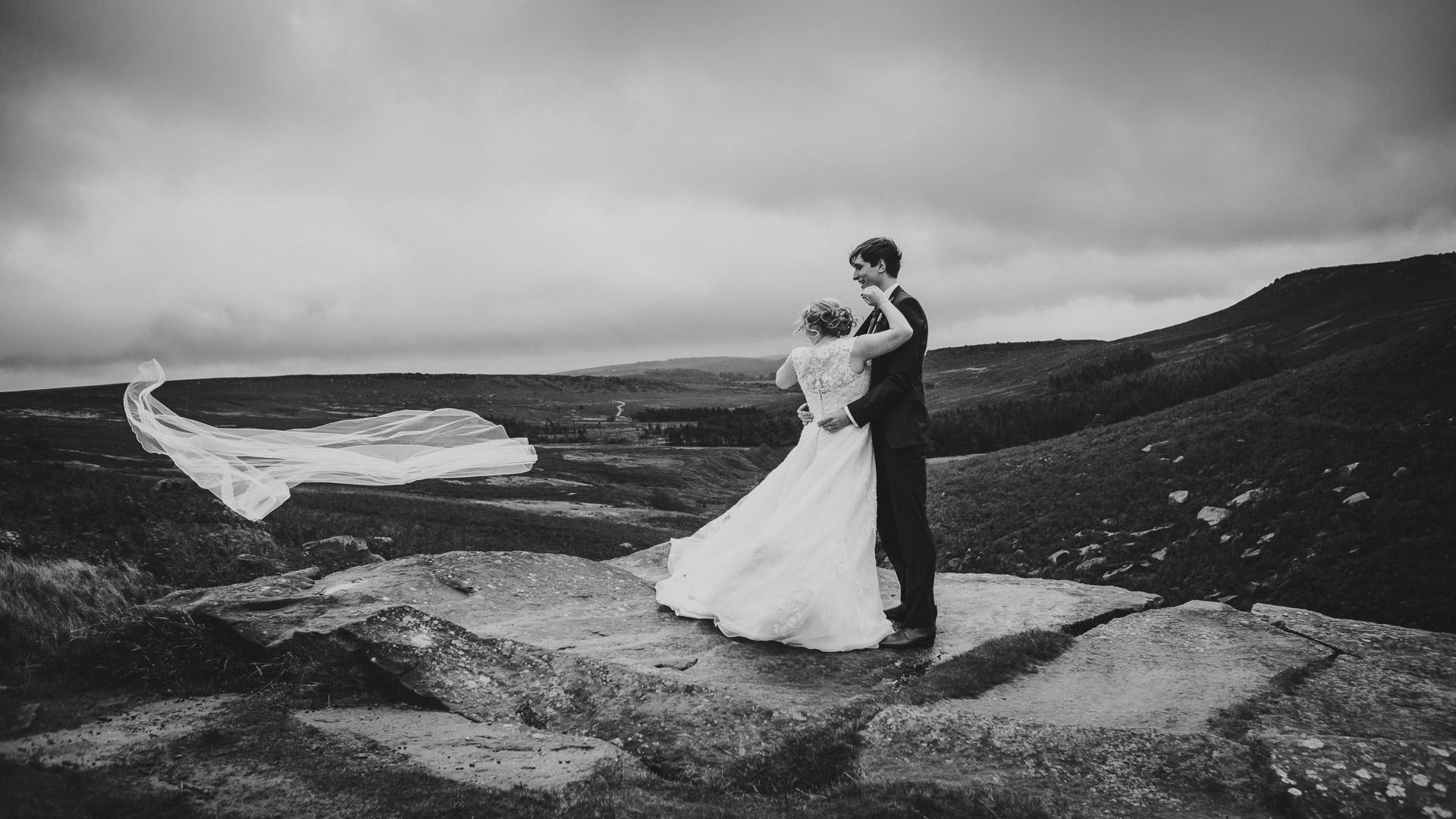 Wedding photographer based in Peak District, Tierney Photography.